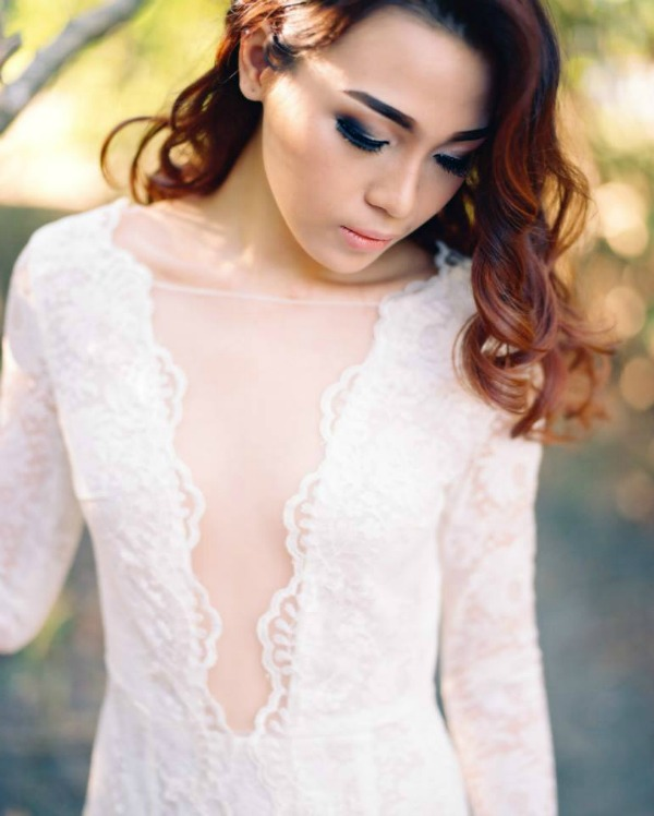 gown by Bramanta Wijaya Sposa