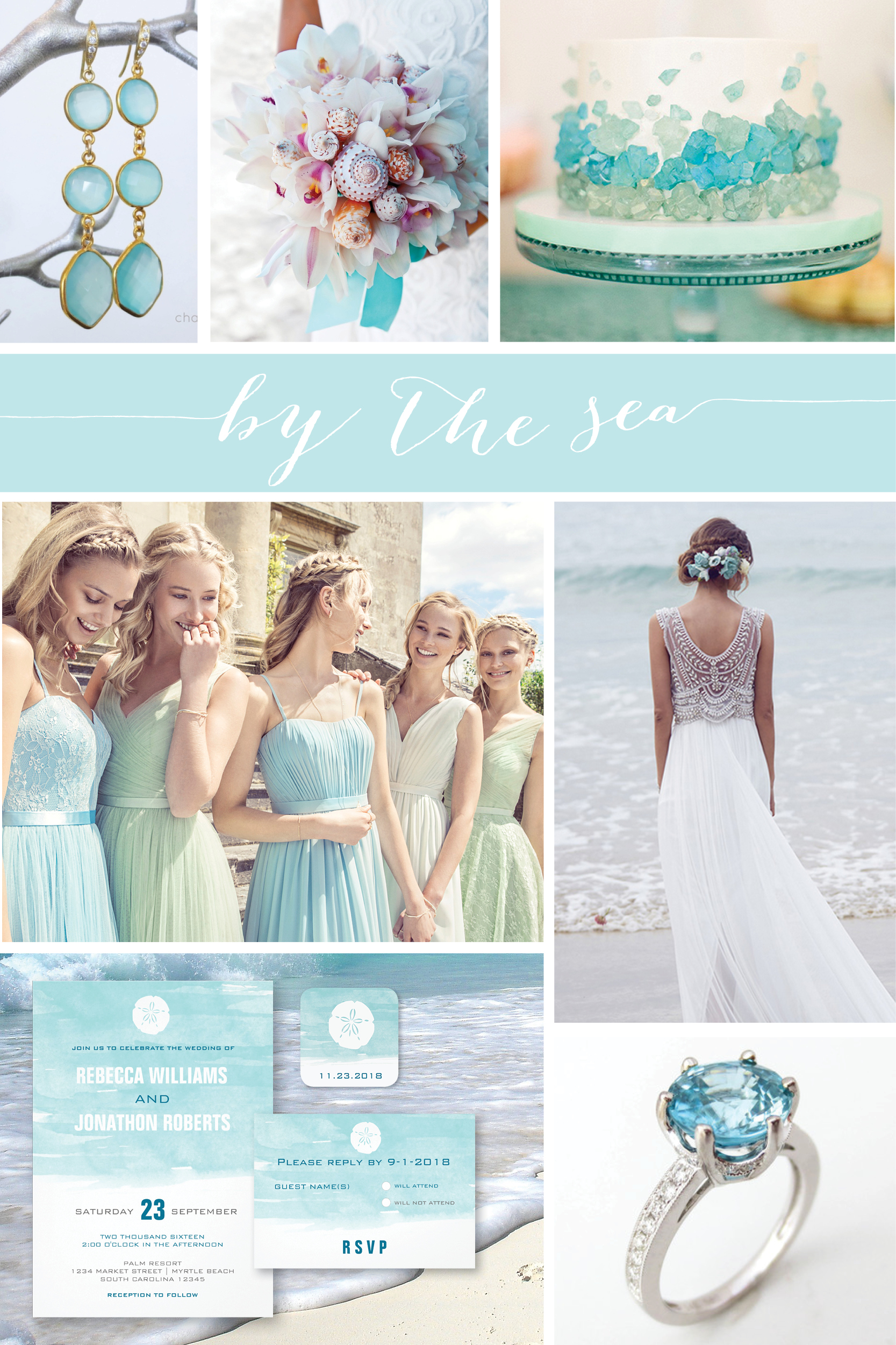 Wedding Wednesday By The Sea Nan Lee Jewelry