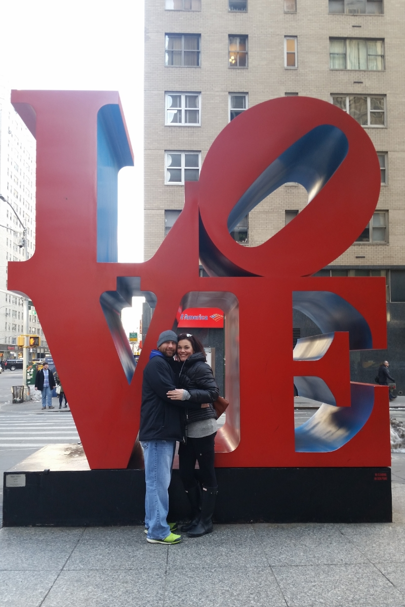 Love is in the air in New York City