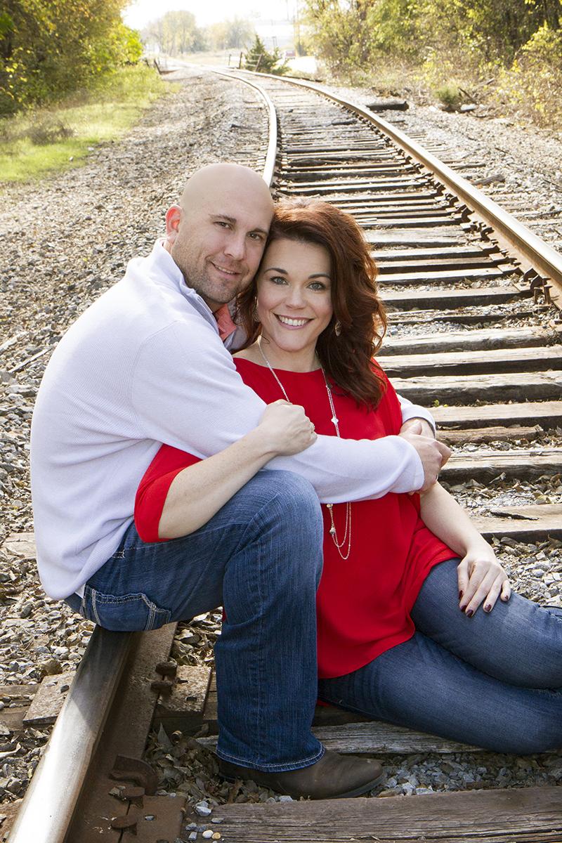 Derek Dean and Kim Daugherty