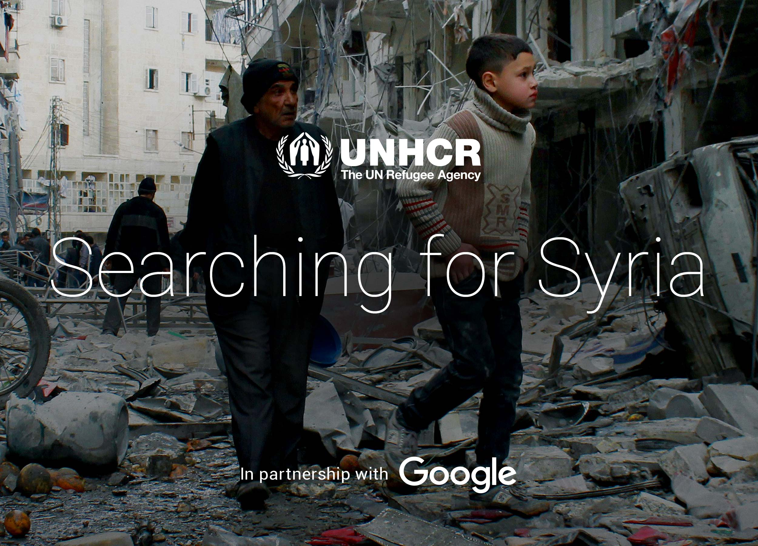 Search For Syria    Responsive web design & build, UI/UX design, social