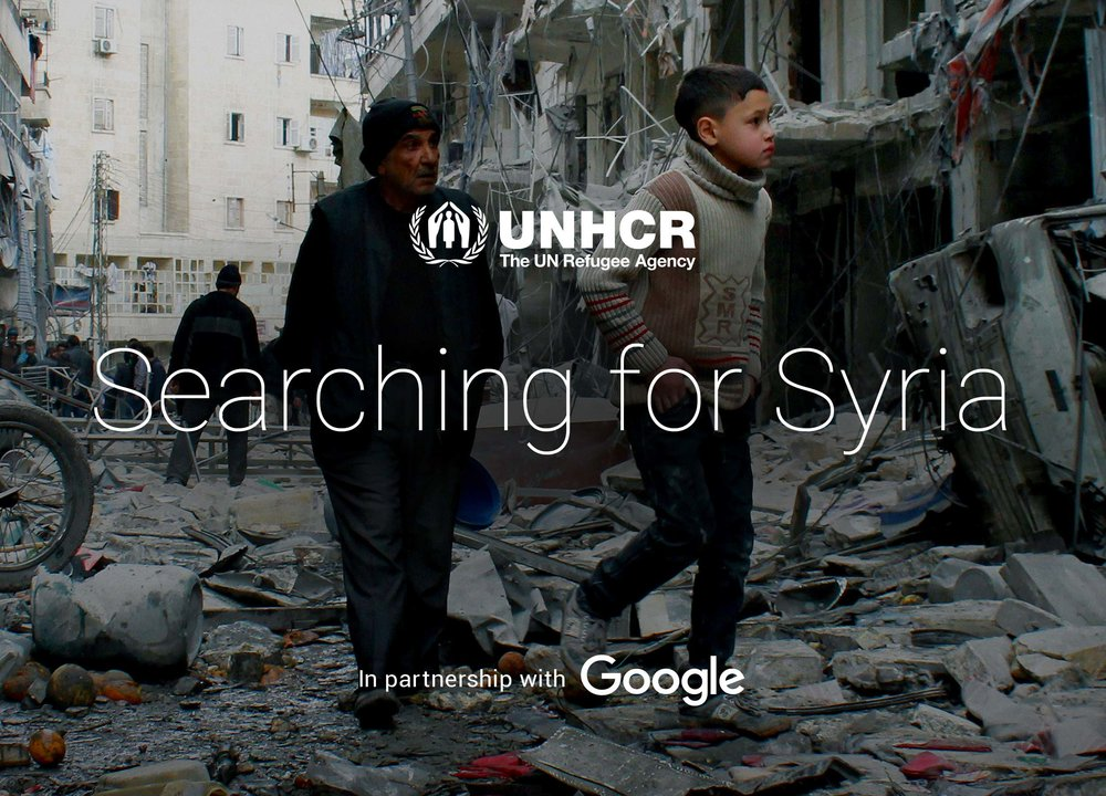 Search For Syria    Responsive web design & build, UX, UI, user testing, design, social