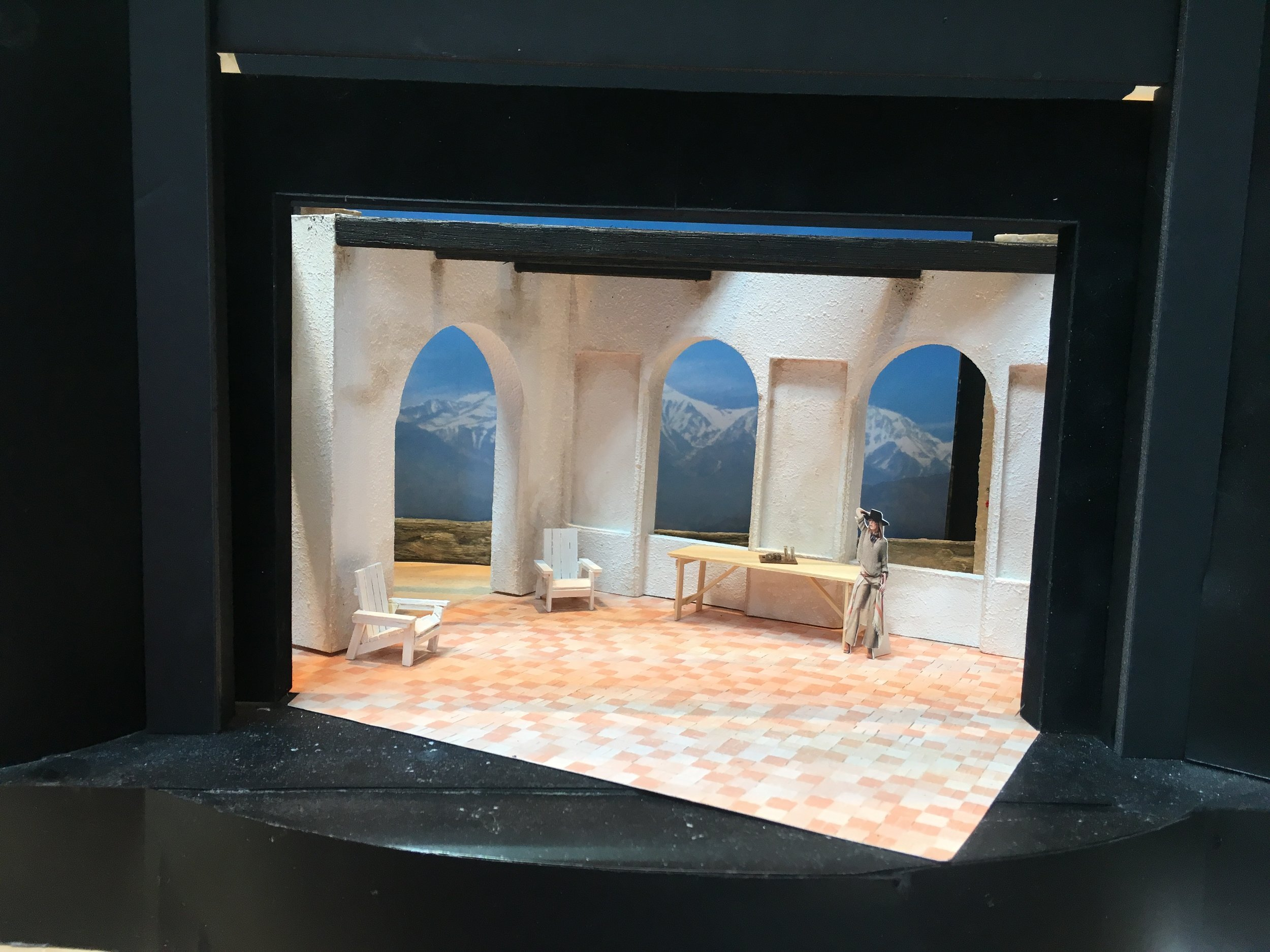 The Cherry Orchard Model Box