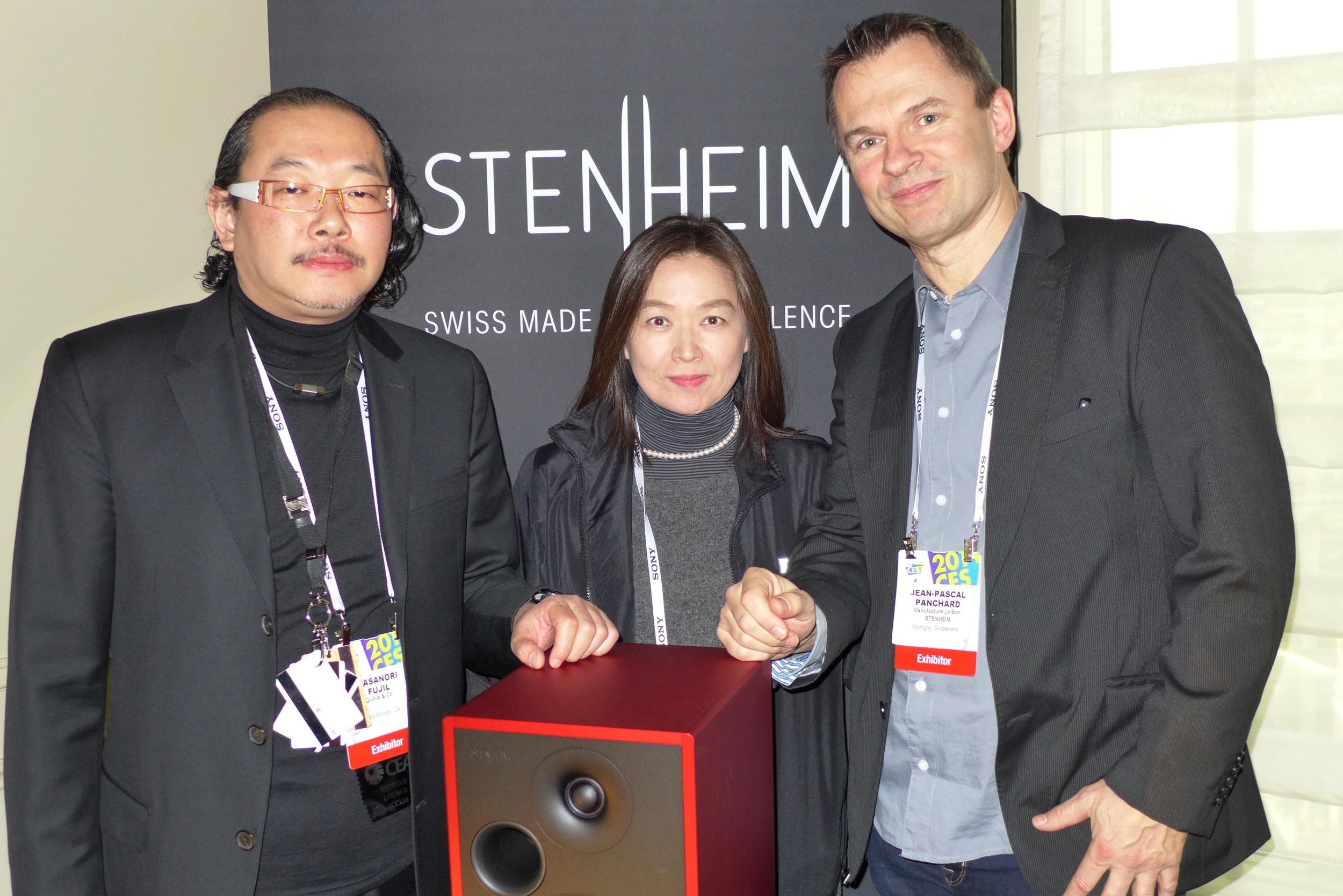Mrs et Mr Fujii of Qualia - Mr Panchard of Stenheim