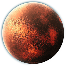 Red Planetoid