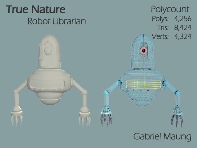 Robot Librarian