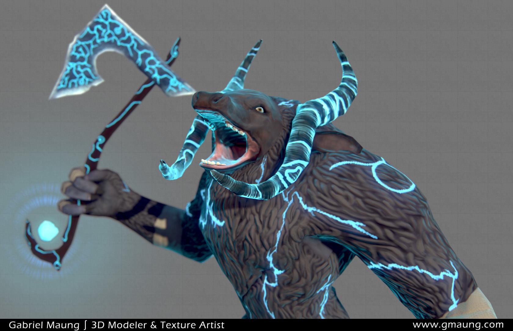 Minotaur Roar
