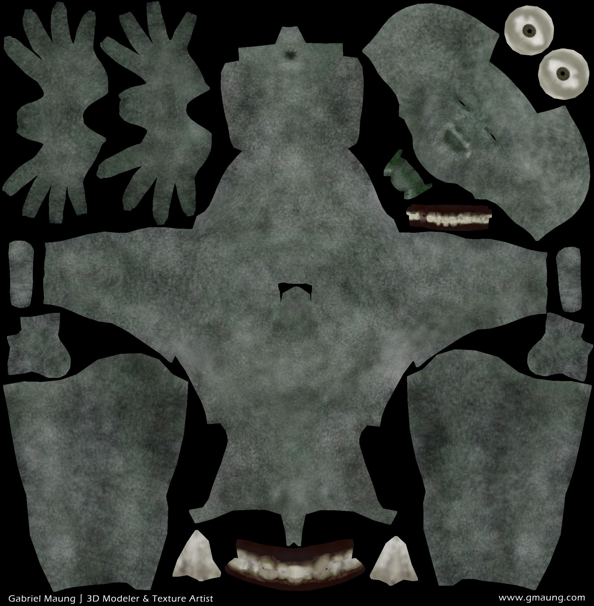 Body Diffuse Map