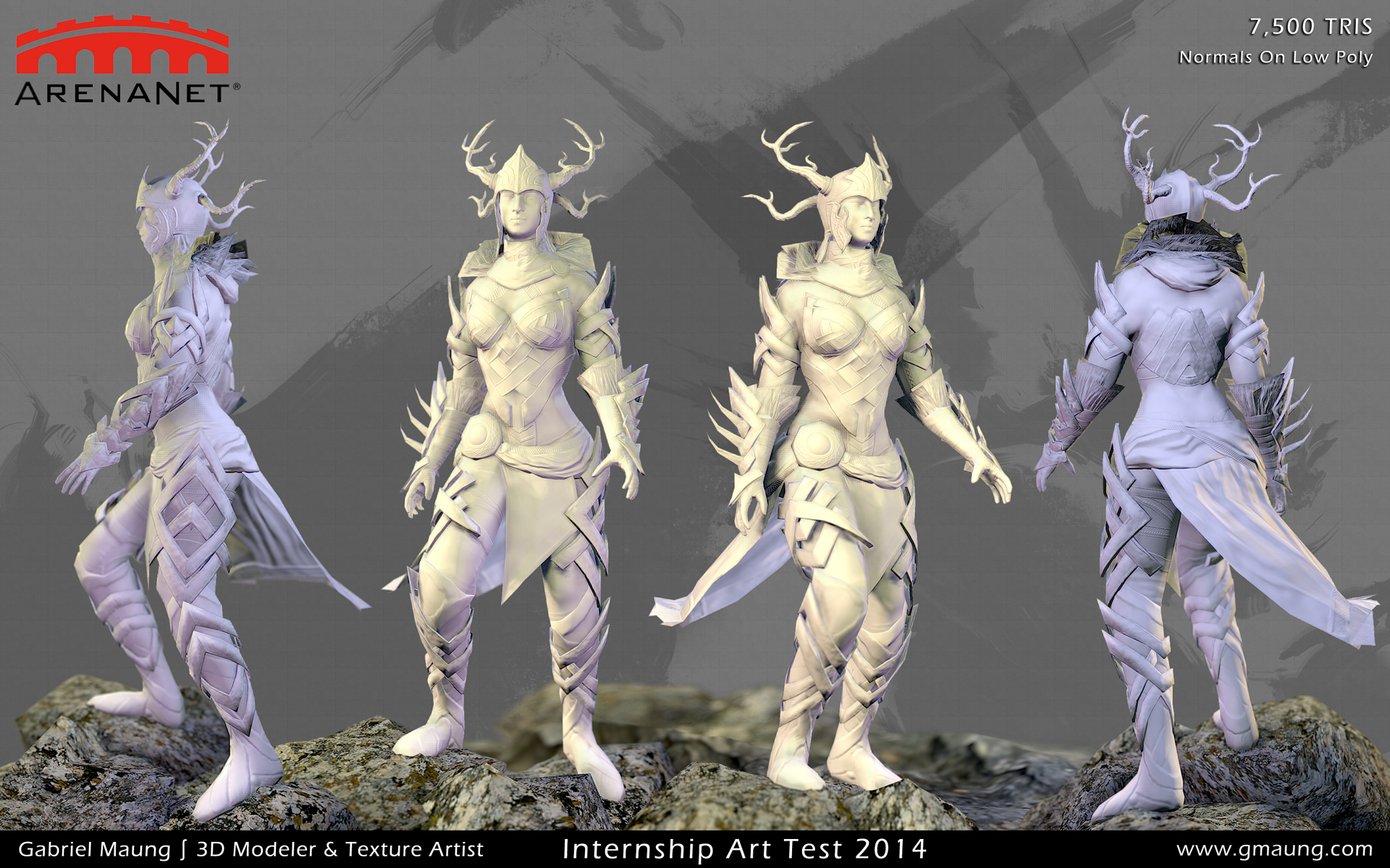 Normals On Low Poly Model