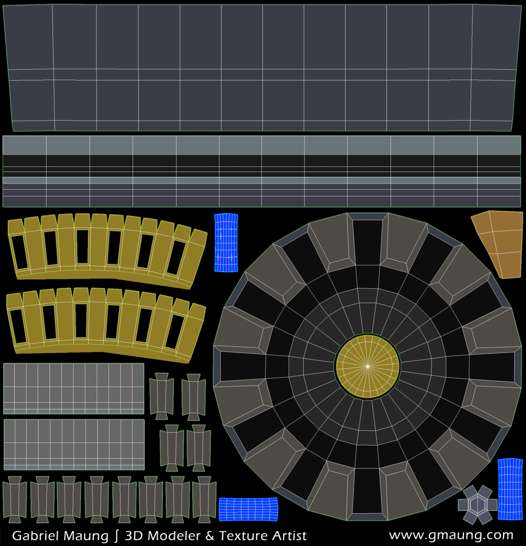 UVs on Color ID Map