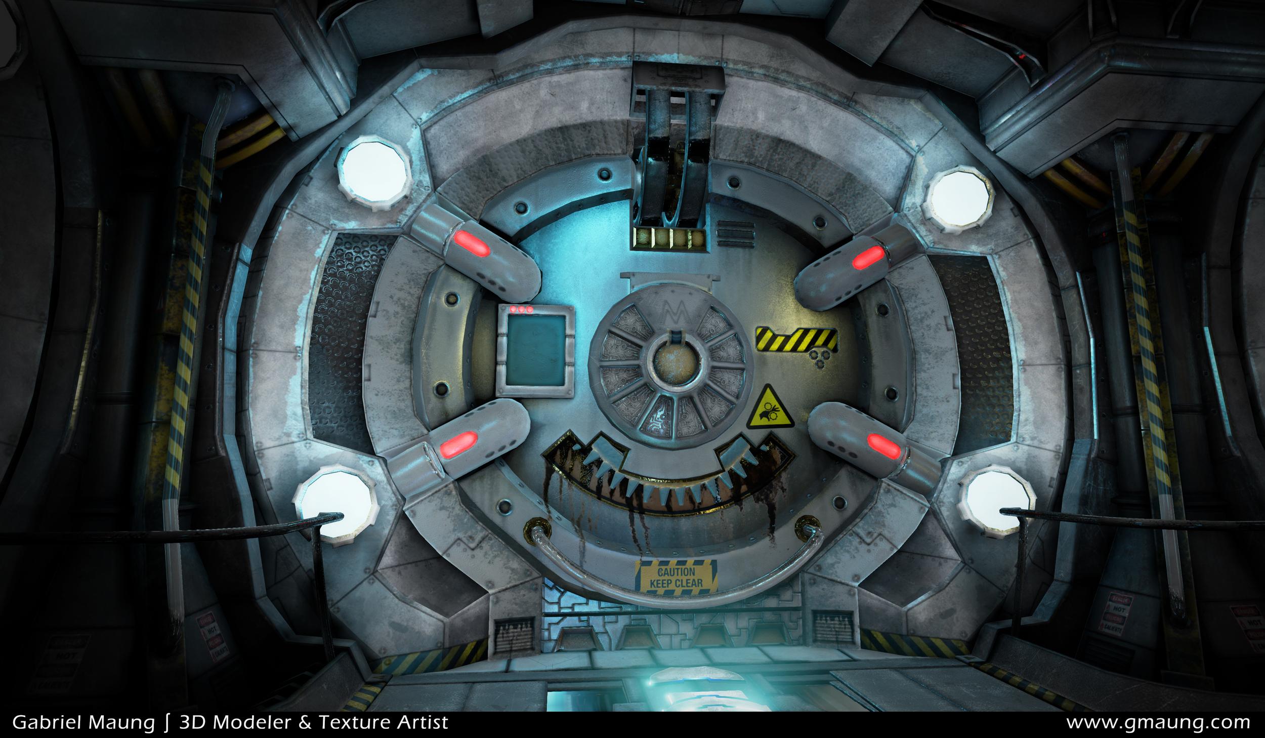 Sci-Fi-Hallway-Environment-UE4-Door-Beauty-Shot-01