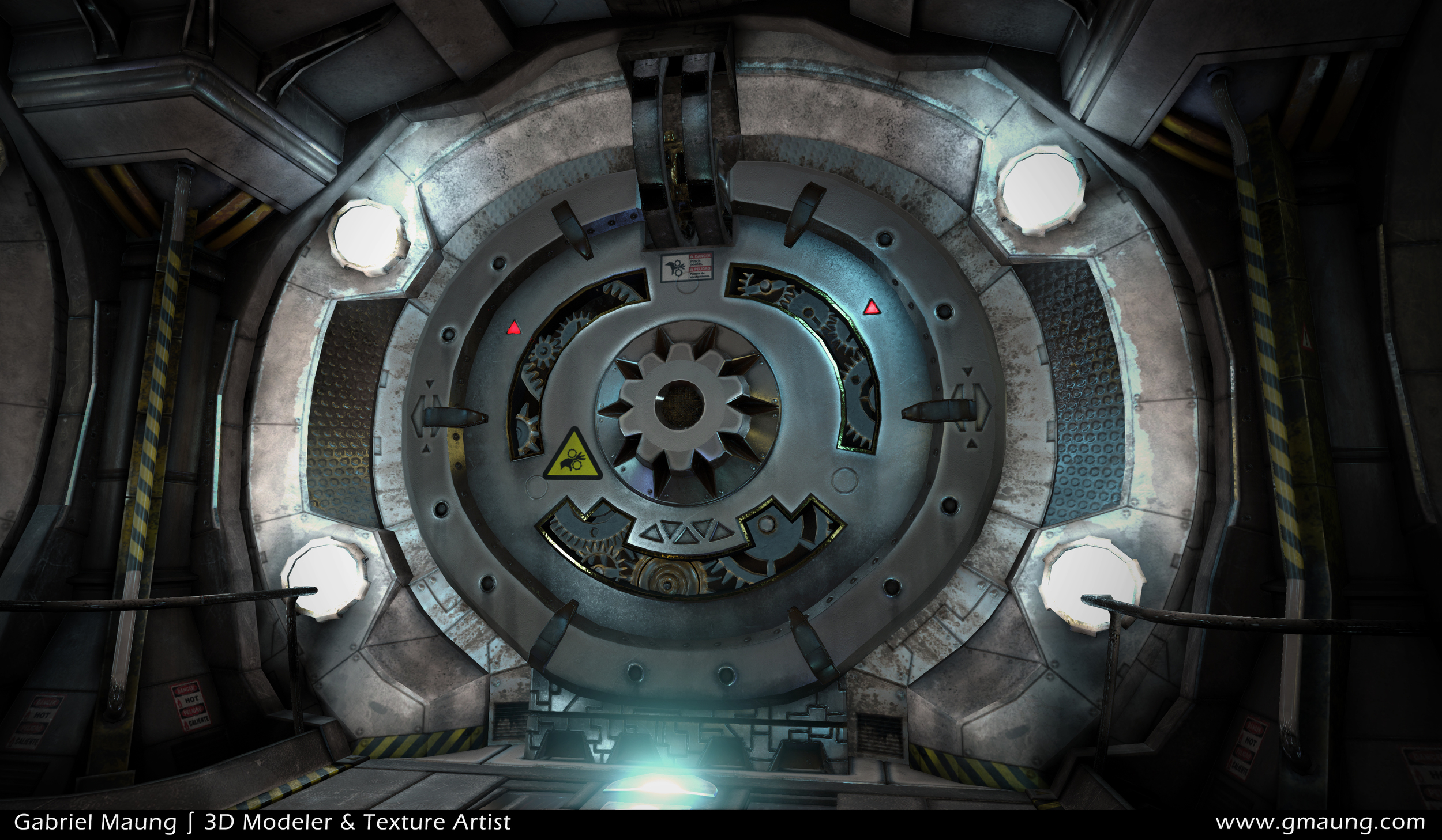 Sci-Fi-Hallway-Environment-UE4-Door-Beauty-Shot-02