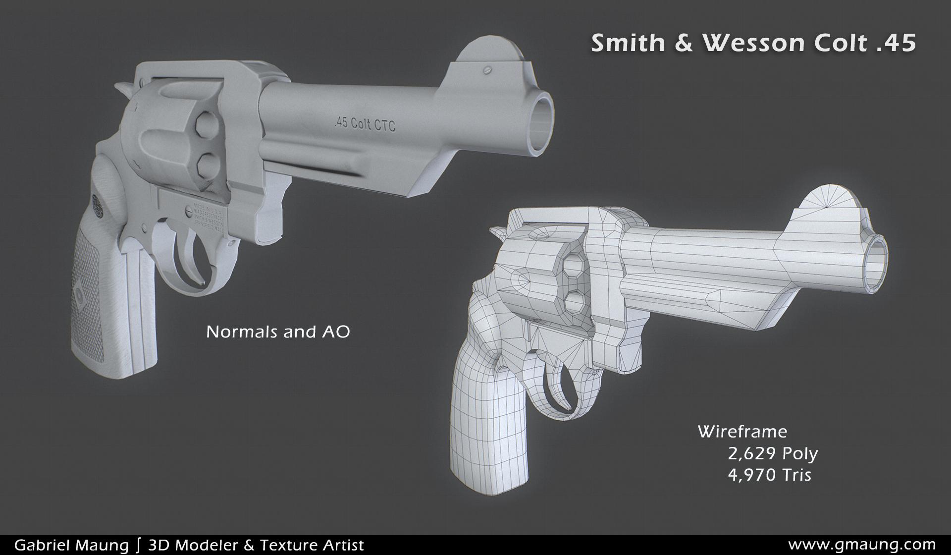 Colt45_3/4 Normals
