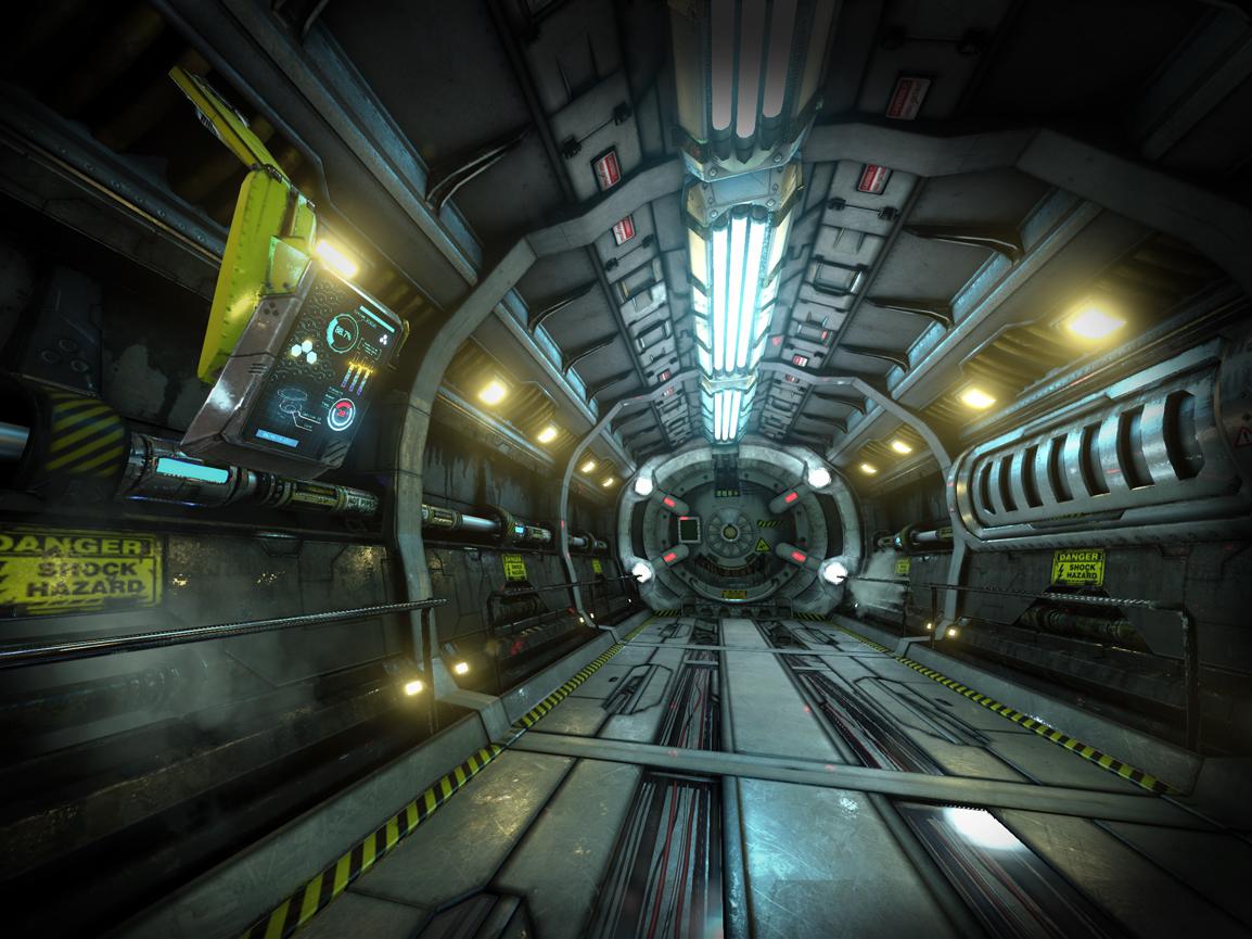 SciFi Modular Hallway