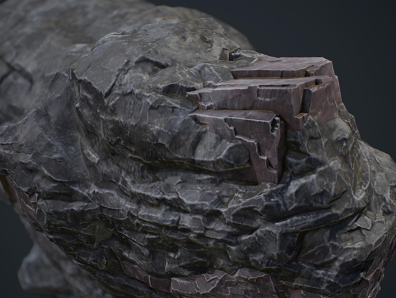Large Corundum Rock