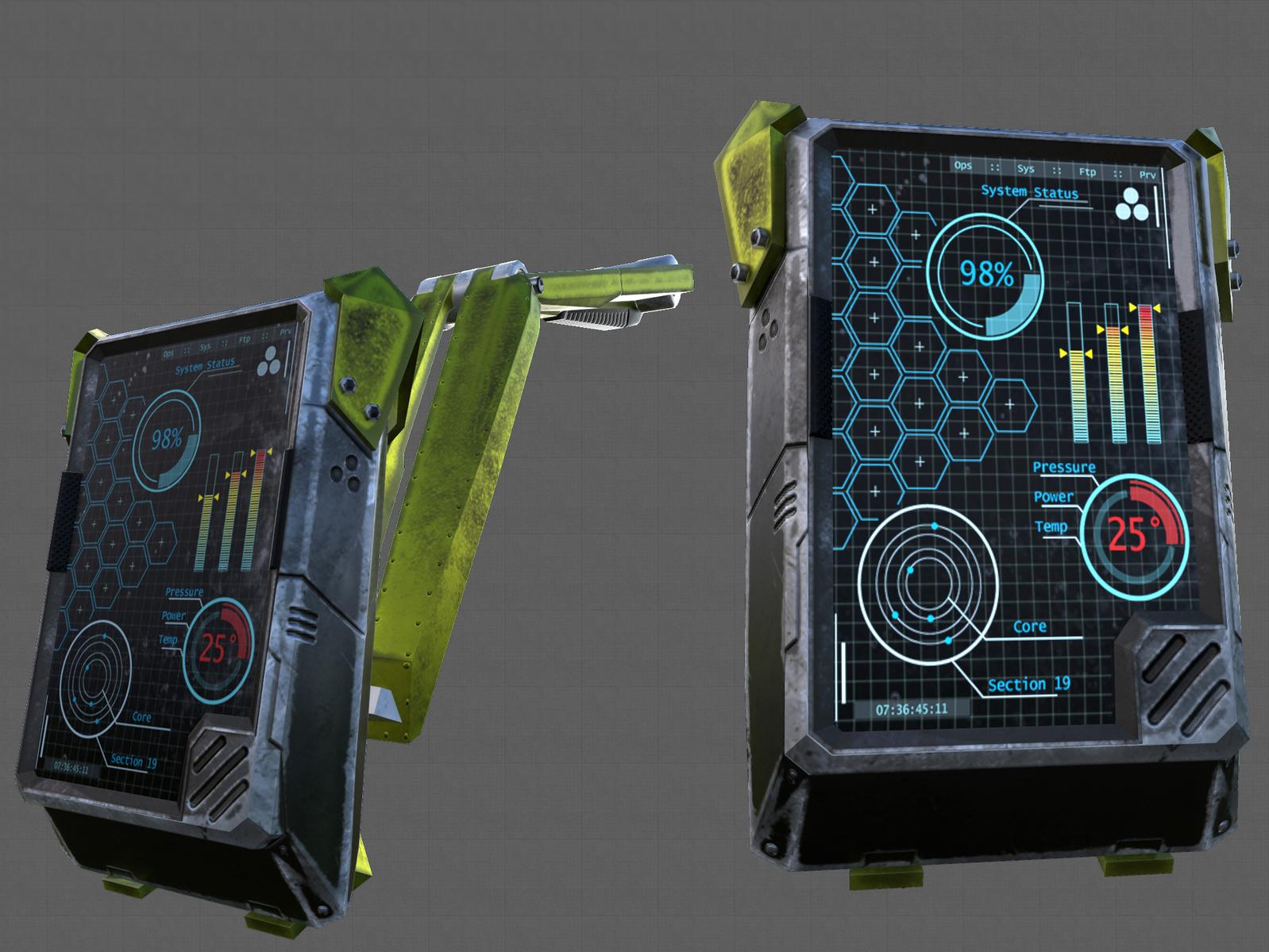 Sci-Fi Monitor