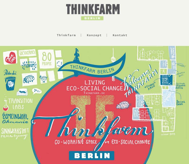THINKFARM Berlin  – Eco-Socially conscious Co-Workingspace