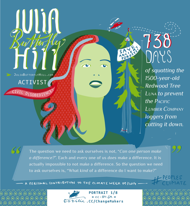 JULIA BUTTERLFY HILL