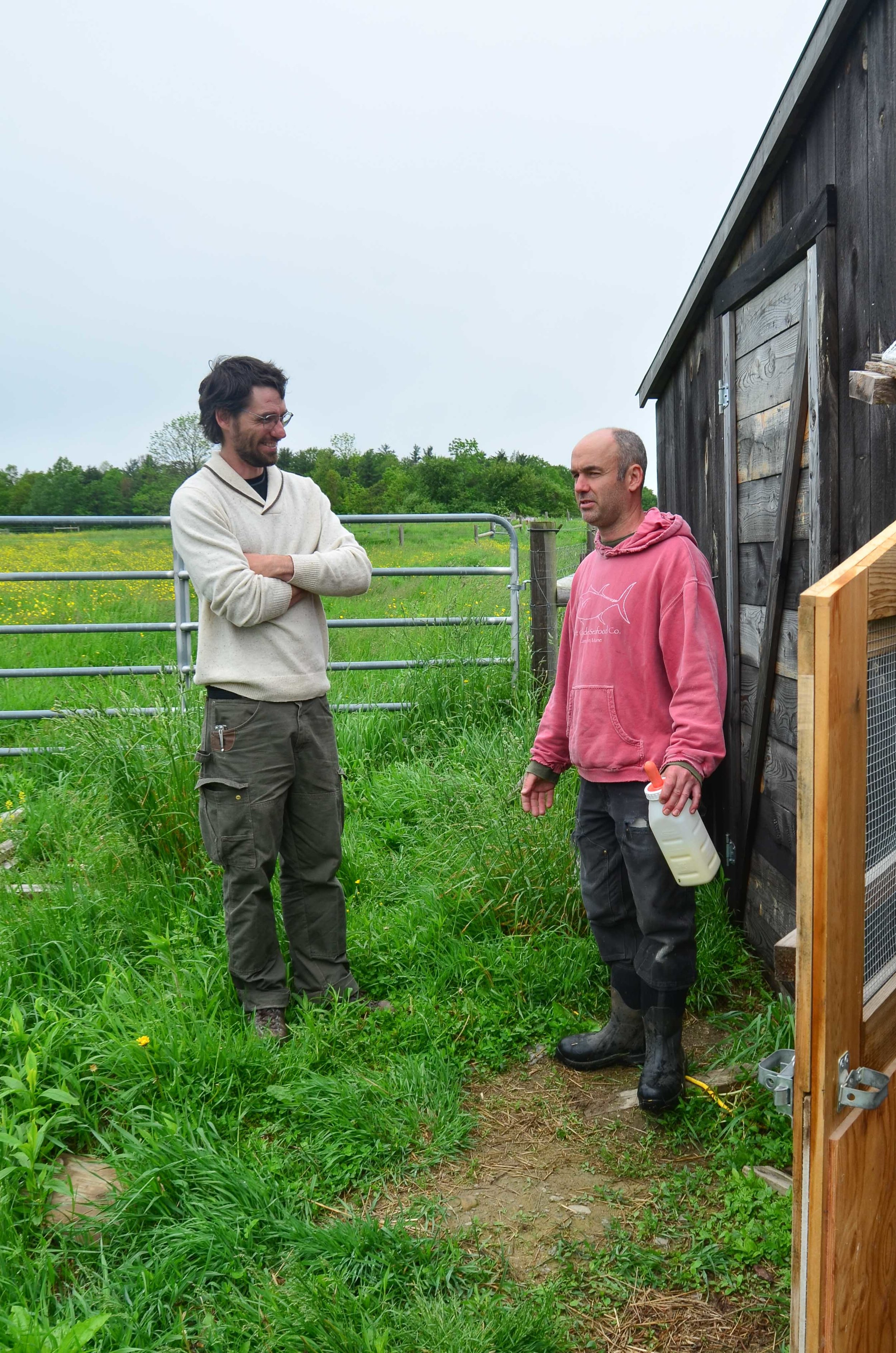 Brendan and Jeb doing Farm talk