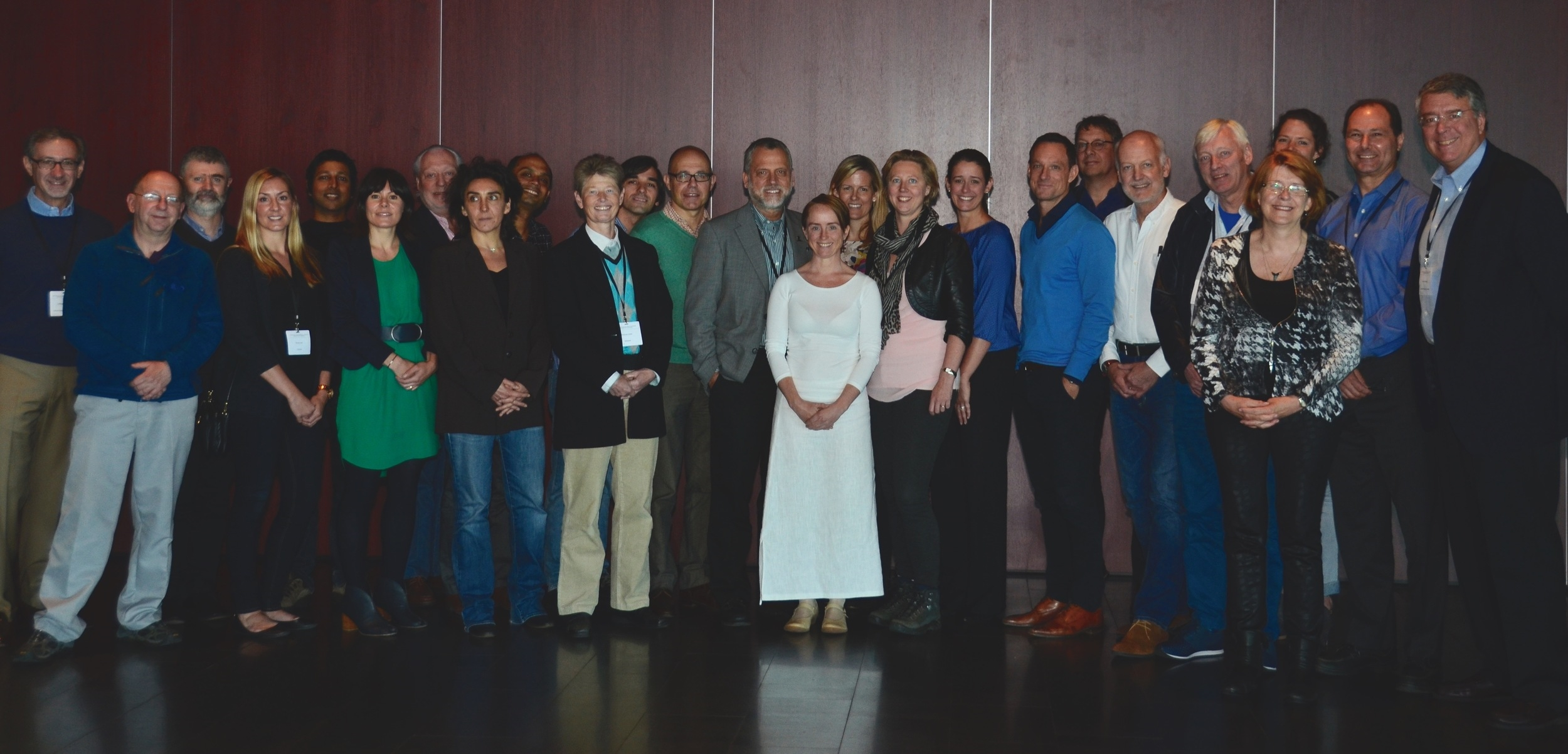 Posterior Fossa Society: members who participated in the 2015 Consensus Meeting in Reykjavík, Iceland.