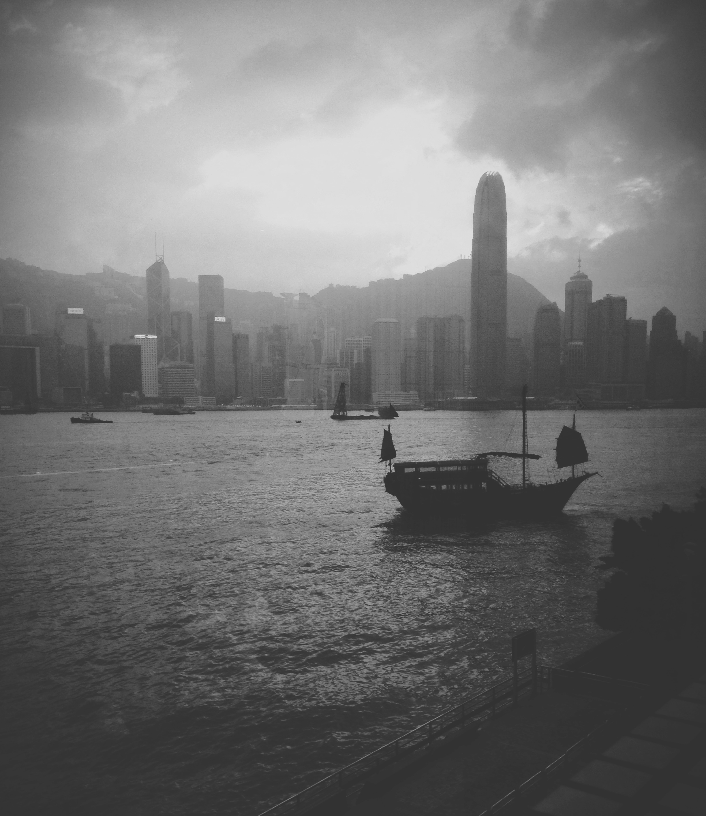 Victoria Harbor, Hong Kong