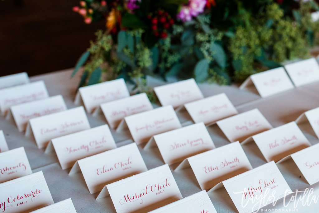 place-cards-bucks-county-wedding