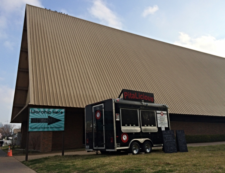 Food truck worship @ Church of Roof, Austin, TX – March 2014