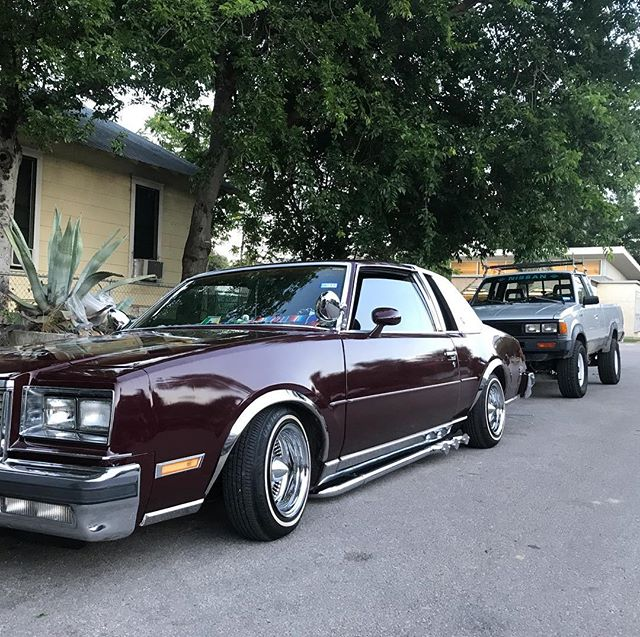 Sittin' Regal AF. #lowlife #creepin720 . . . #buickregal #regal #cenote #atx #Nissan720