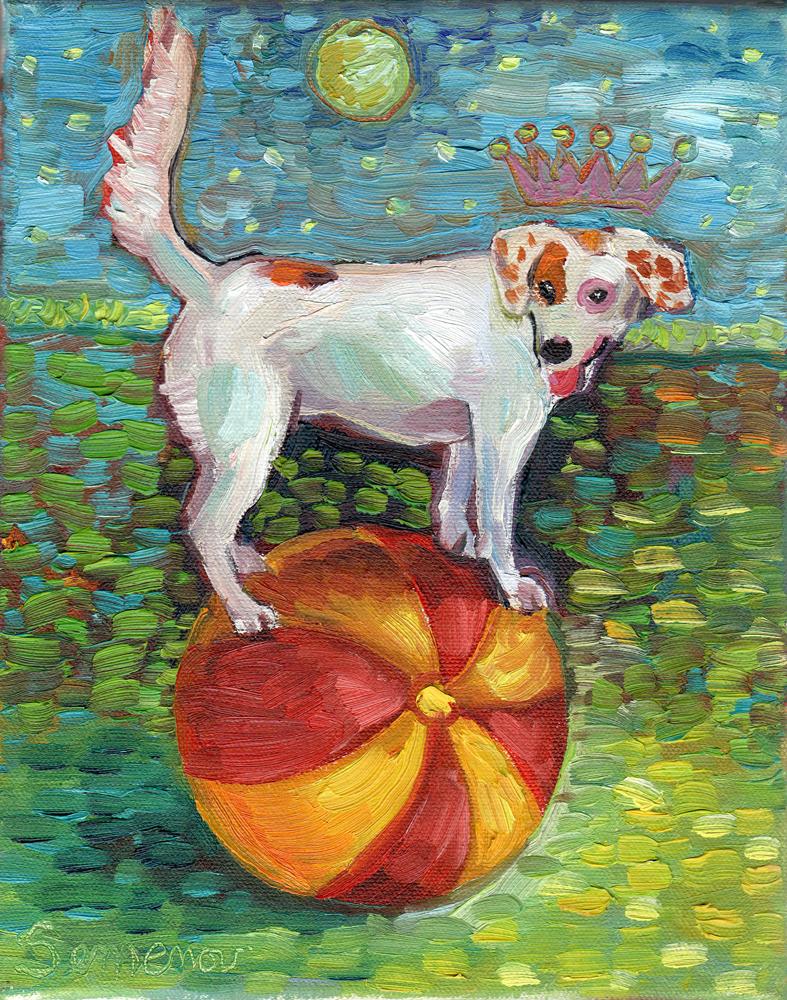 Pinky the Circus Dog