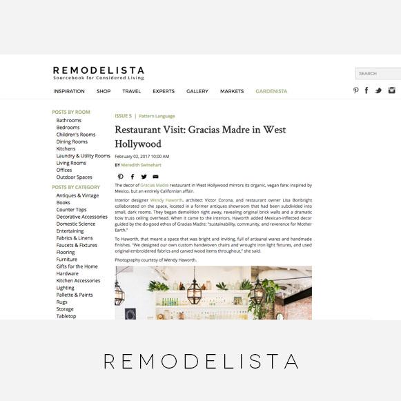 Wendy Haworth Design / Remodelista / 02/02/2017