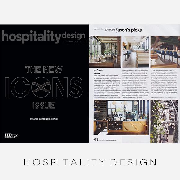 Winsome / Hospitality Design