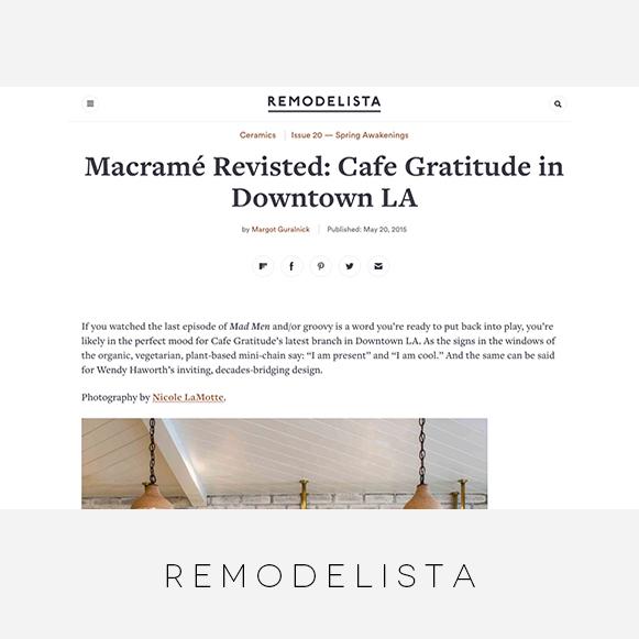 Wendy Haworth Design / Remodelista / CG Arts District
