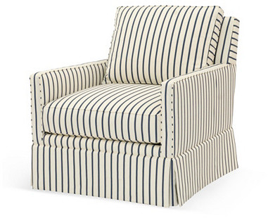 Stripped Arm Chair