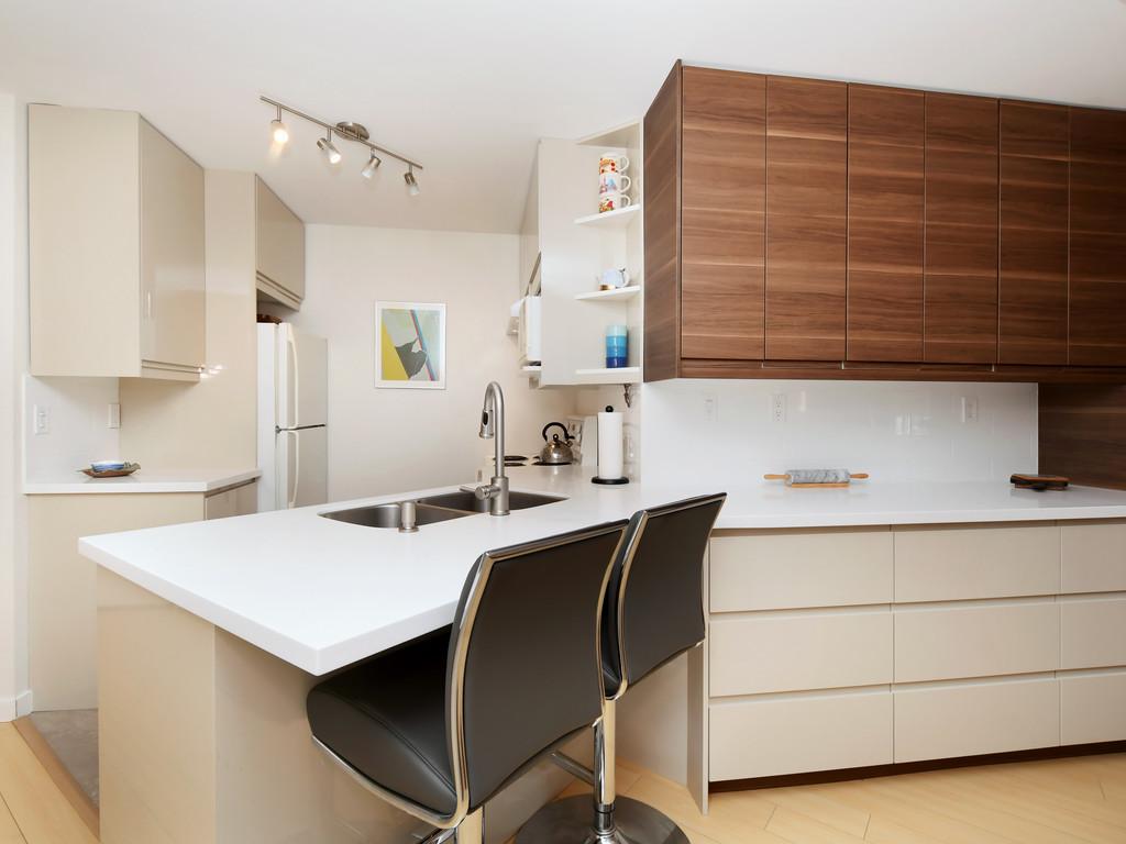 kitchen living wark condo