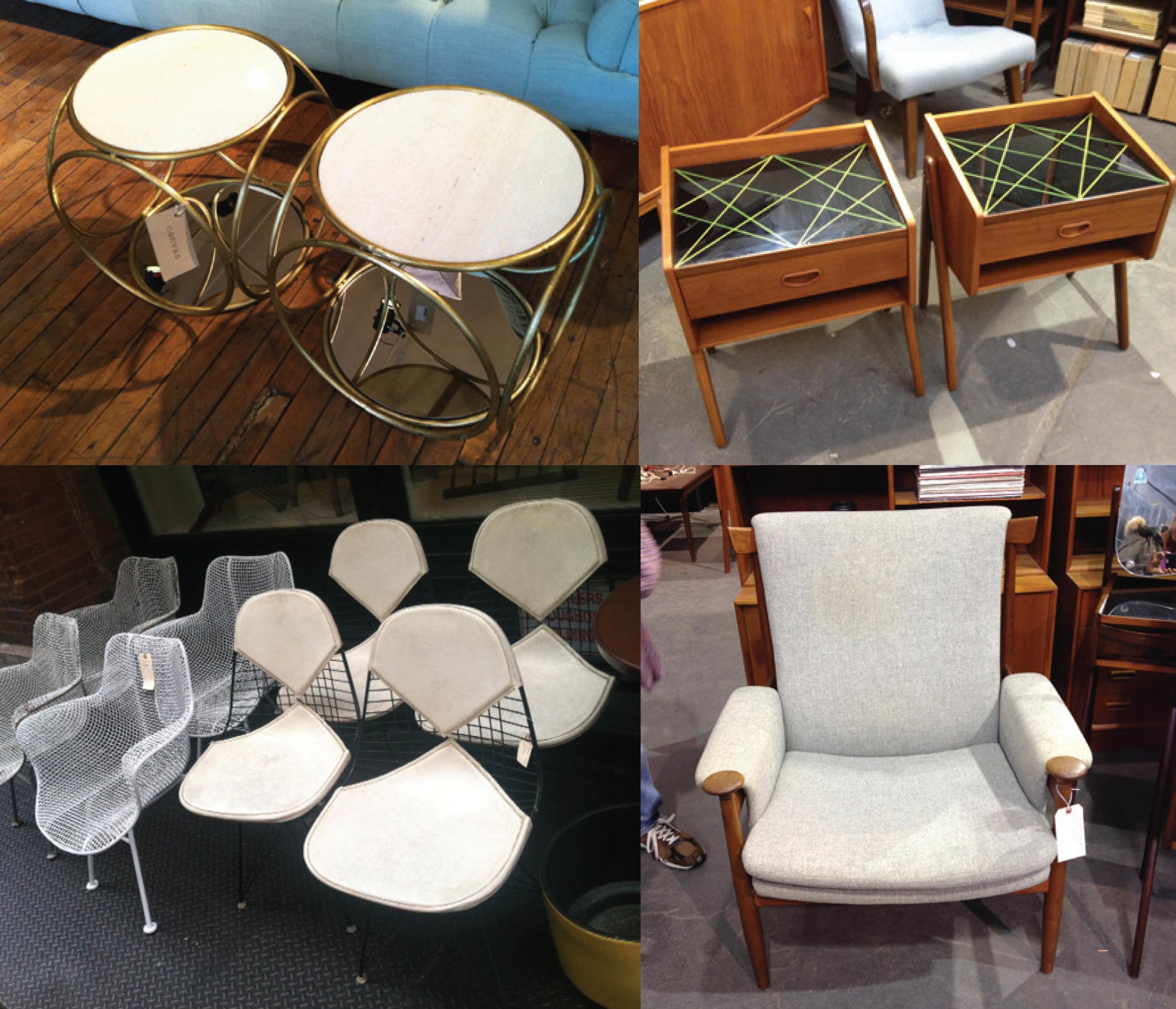 Revamp vintage furniture finds
