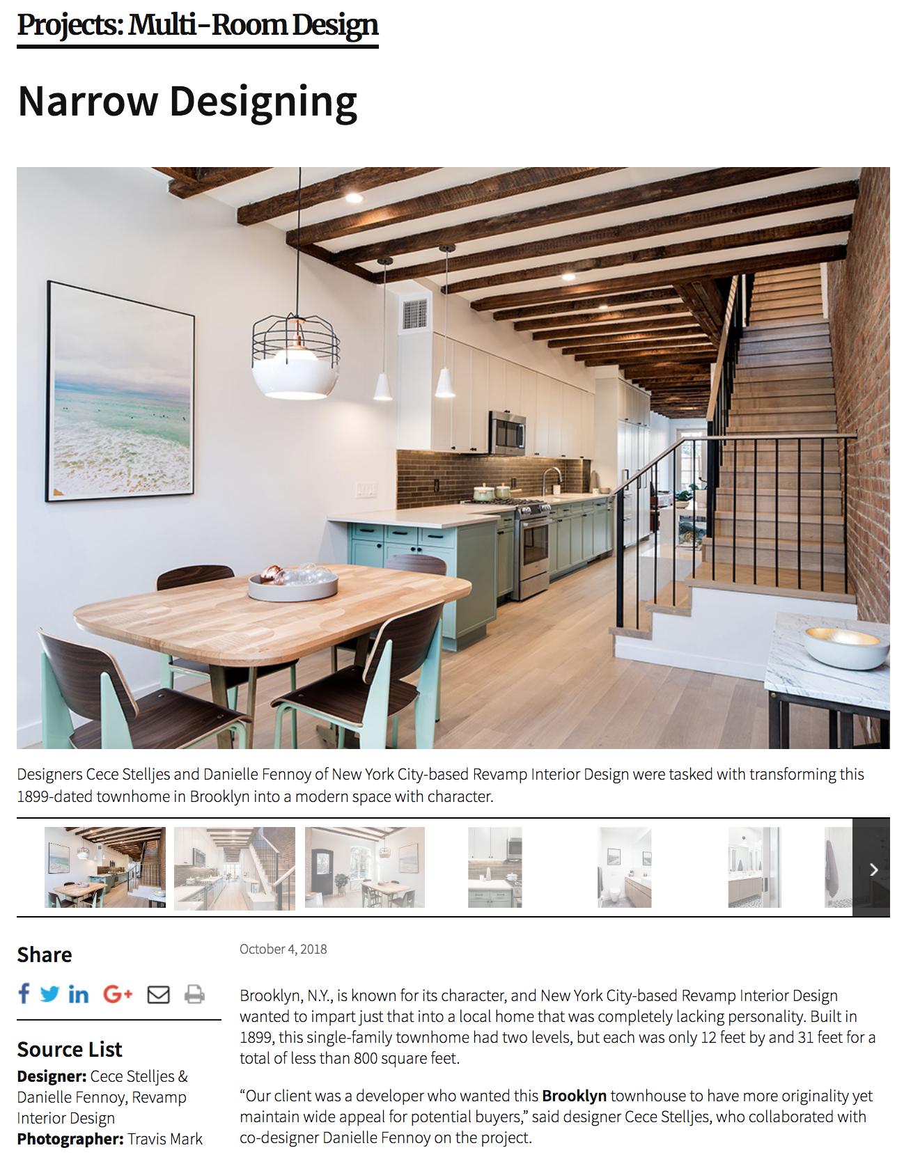 Kitchen & Bath Business - Greenpoint Townhouse - Screenshot 1.png