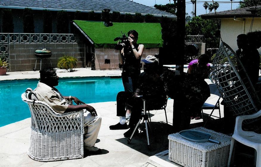Filming Billy Preston