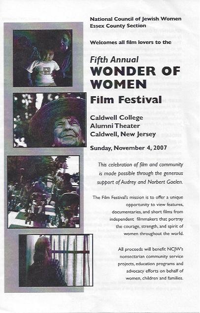 Wonder of Women Film Festival, 2007