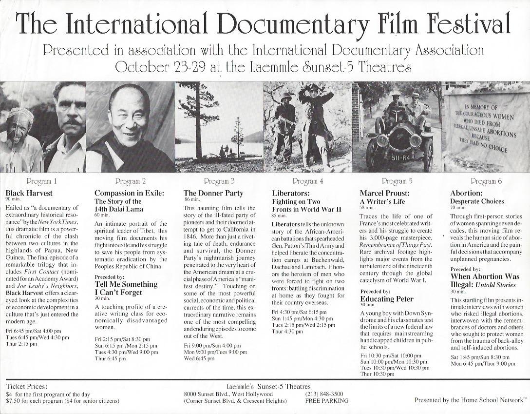 The International Documentary Film Festival