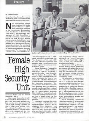 International Documentary Magazine, page 1
