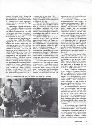 International Documentary Magazine, page 2