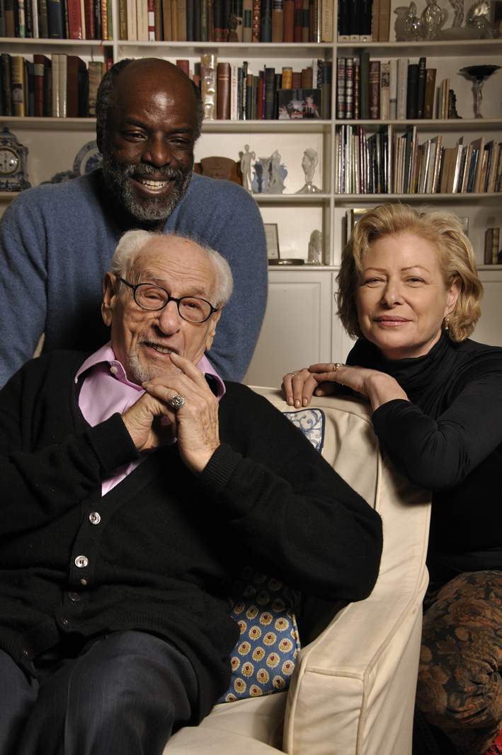 Writer Dennis Watlington, Narrator Eli Wallach, and Director/Producer Nina Rosenblum