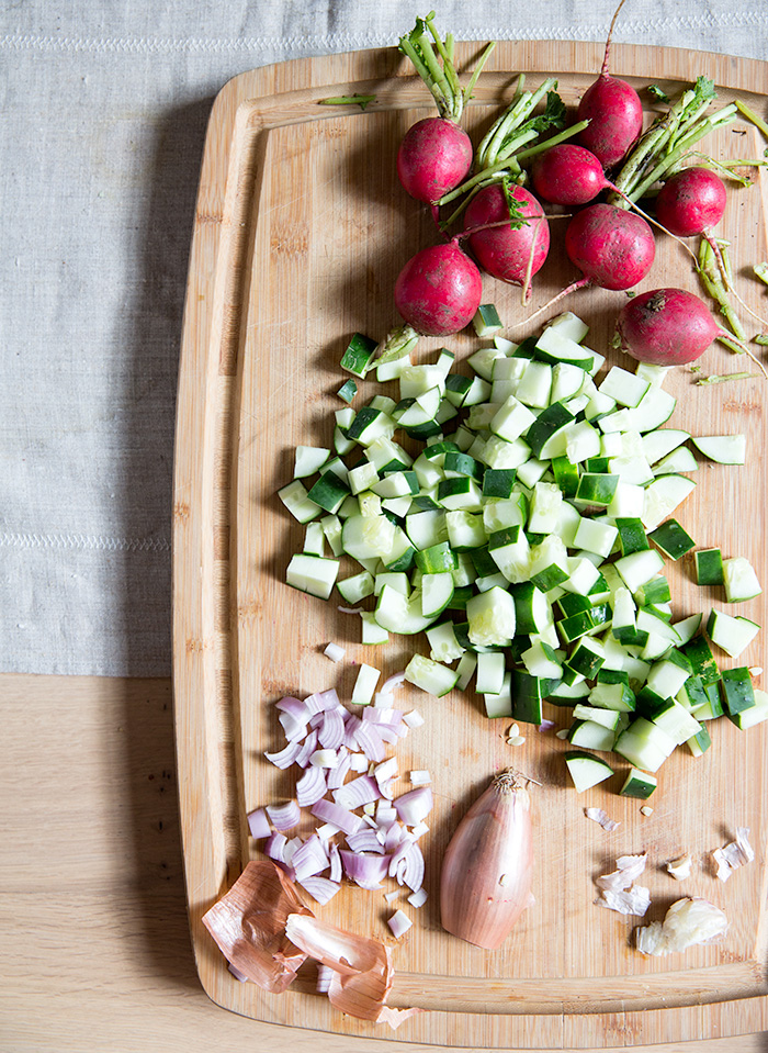cucumber radish gazpacho   what's cooking good looking