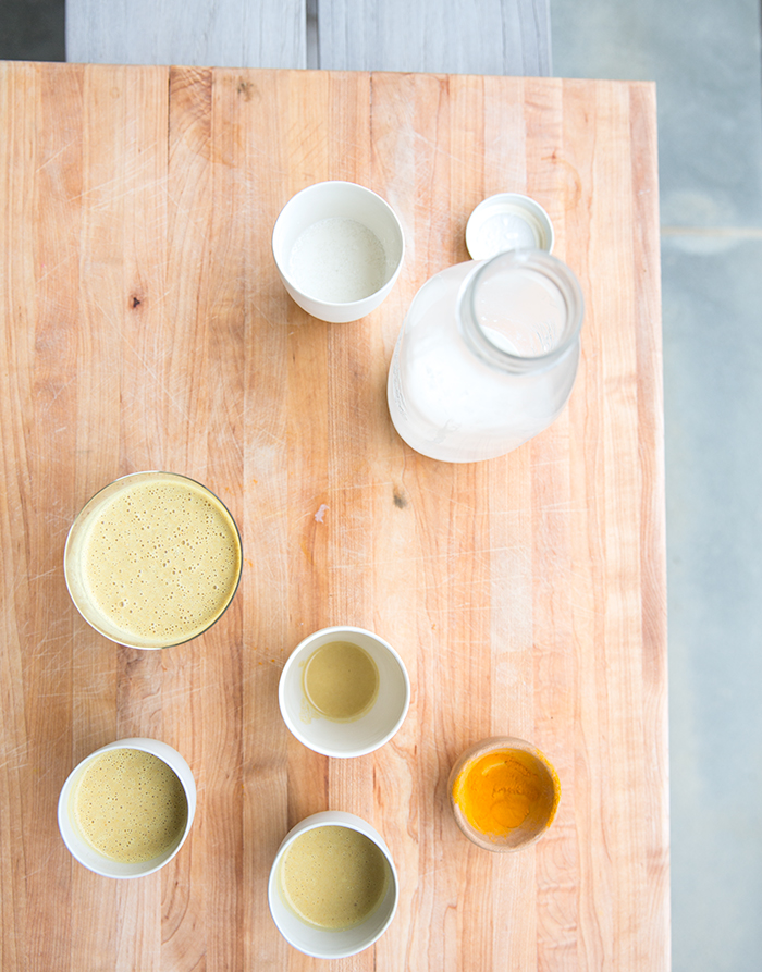 turmeric smoothie + homemade hemp milk | what's cooking good looking