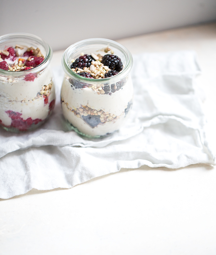 easy homemade cashew yogurt | what's cooking good looking