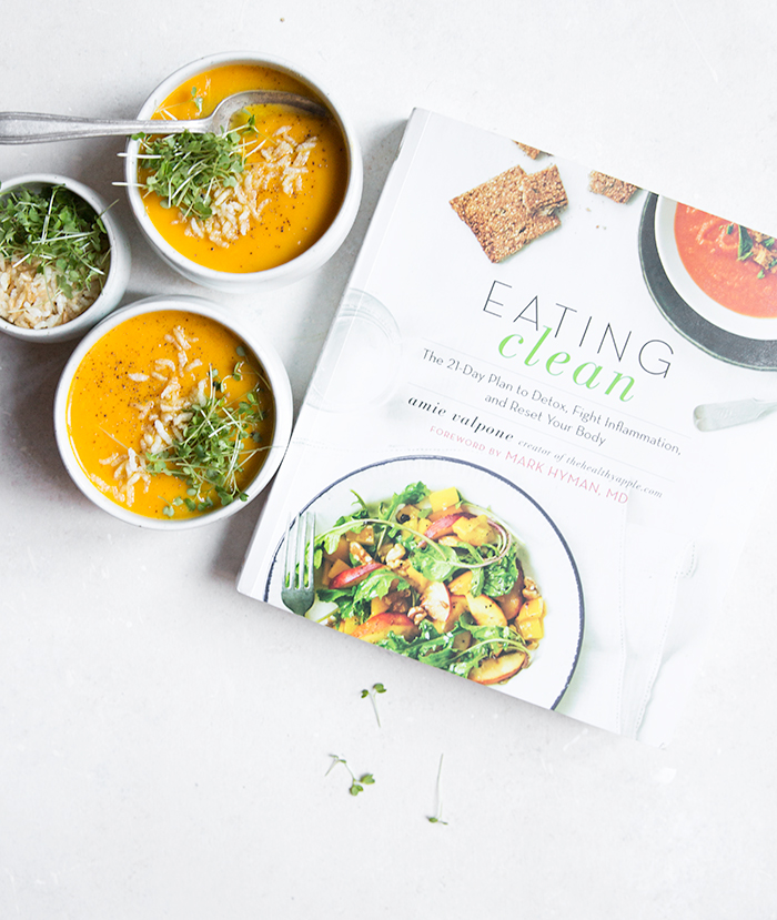 golden bell pepper soup + avocado + puffed rice | what's cooking good looking