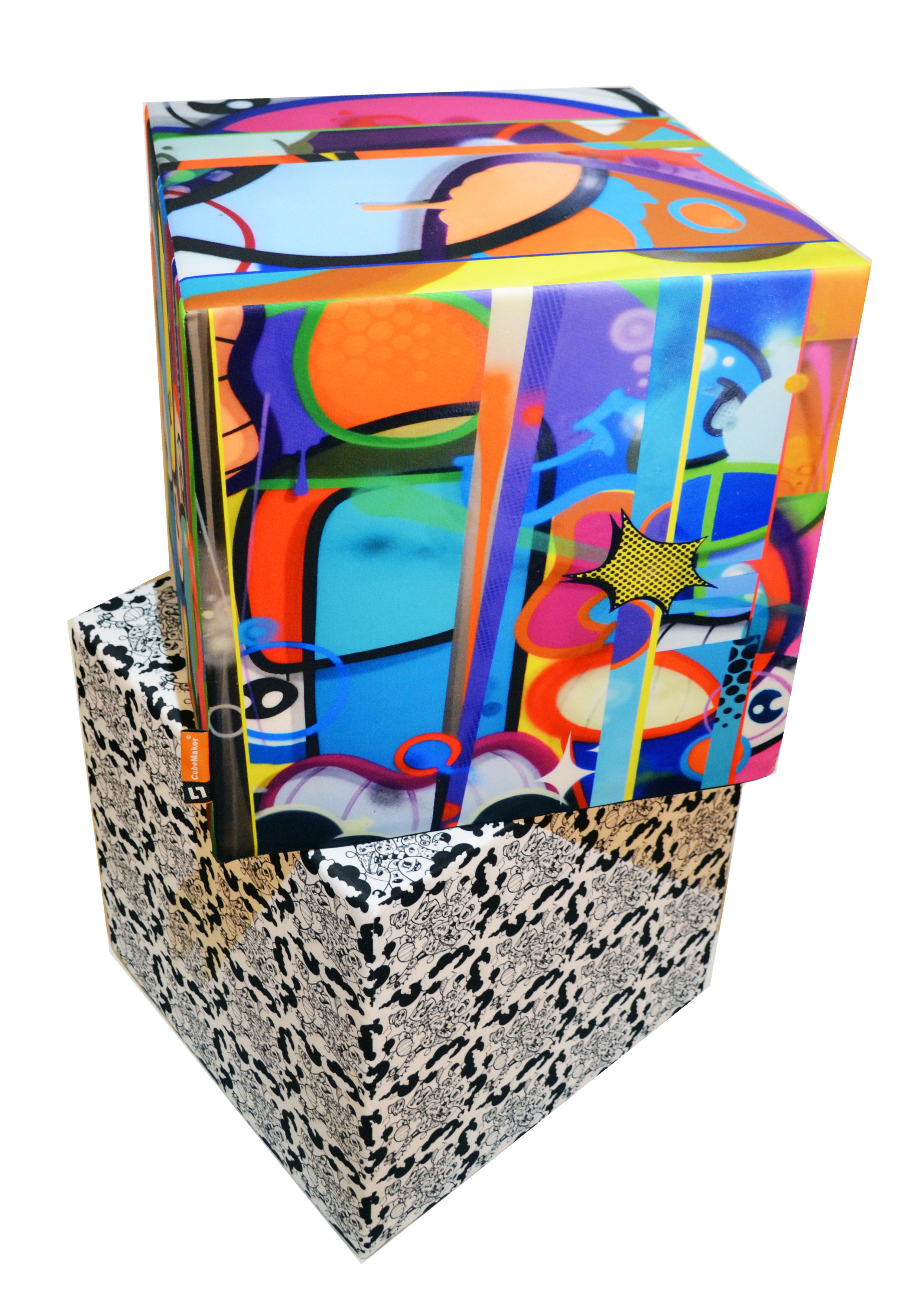 design cubes 3x45cm cubemaker leipzig