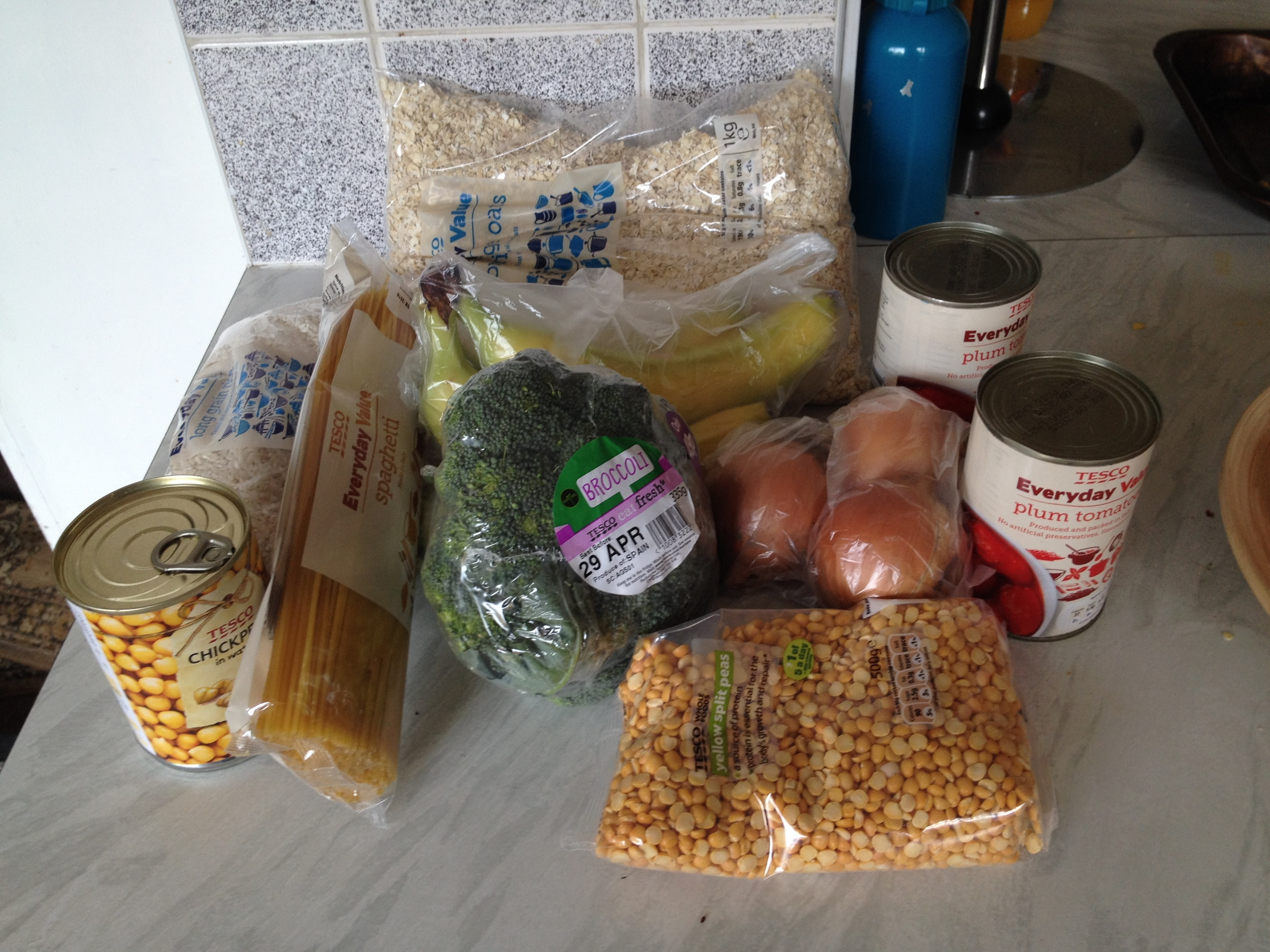 My food for the week