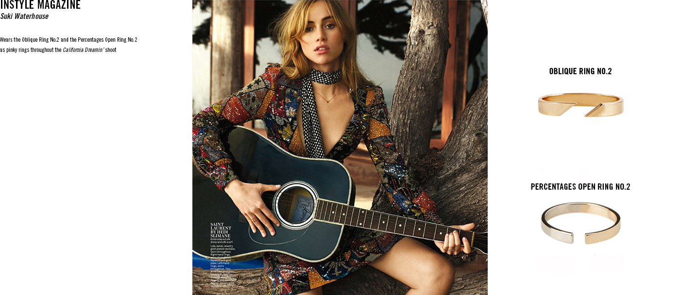 InStyle - Suki Waterhouse TARA 4779 jewelry