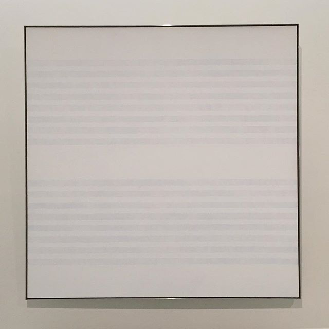 Untitled #16 - Agnes Martin 💙 . . . #martinmonday #agnesmartin #agnes #minimal #fineart #linear #inspiration